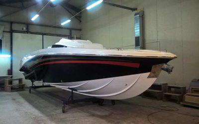 Oklejanie łodzi 30RX